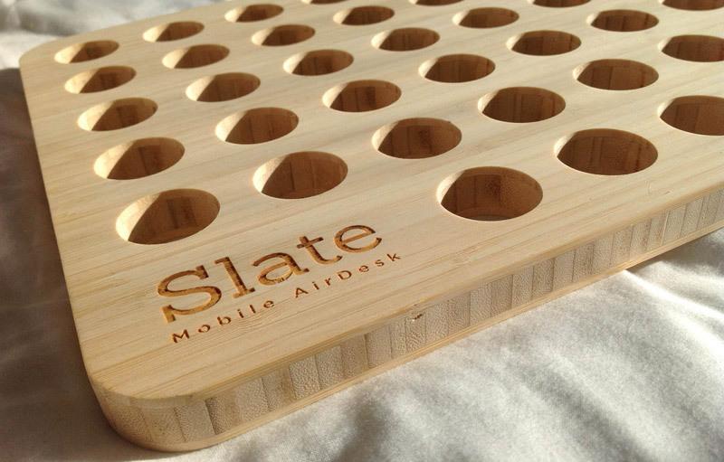 Slate Mobile Desk