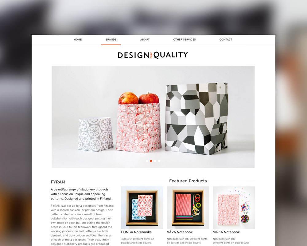 Design Quality Listing