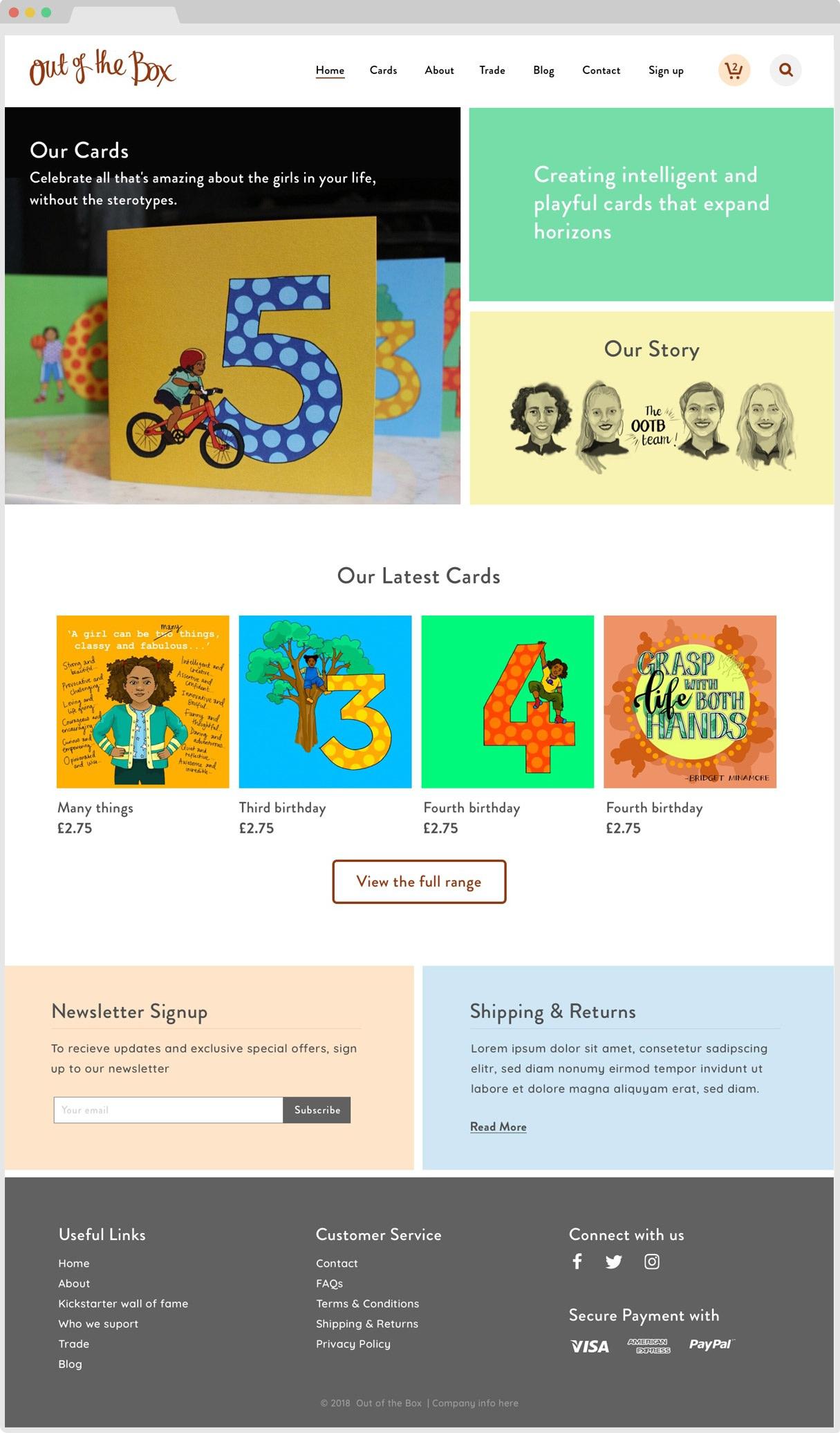 Ootb Homepage
